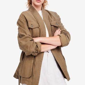 Free people cotton utility jacket
